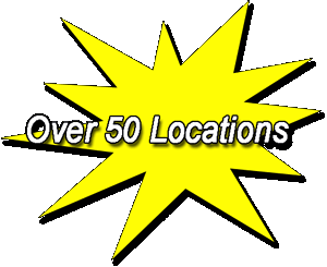 Over 50 locations.